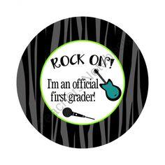 Rock Star Themed 2 product from Polka-Dot-Giraffe on TeachersNotebook.com Rock Star Theme, Rock Star Party, 5th Grade Graduation, Preschool Graduation, Stars Classroom, Classroom Themes, End Of School Year, School Life, Pre School