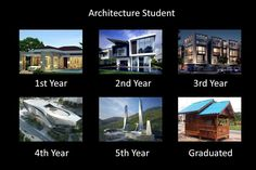 From dream designs to the harsh reality of life once you've graduated as an Architect.
