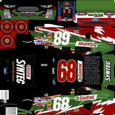 NASCAR Templates 2013 | Displaying 17> Images For - Nascar Template Gen 6...