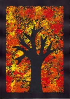 50 Easy Fall crafts ideas to celebrate the autumn season Easy Fall Crafts, Fall Crafts For Kids, Art For Kids, Fall Art For Toddlers, Autumn Art Ideas For Kids, Autumn Activities, Art Activities, Fall Tree Painting, Fall Art Projects