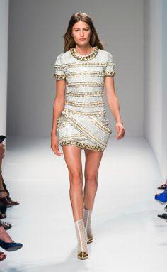 Balmain s/s 2014 Paris Fashion Week