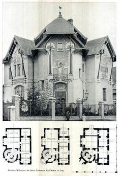 Art nouveau house plans