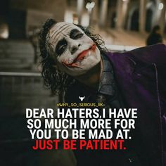 Most memorable quotes from Joker, a movie based on film. Find important Joker Quotes from film. Joker Quotes about who is the joker and why batman kill joker. Joker Qoutes, Joker Frases, Best Joker Quotes, Badass Quotes, Jinx Quotes, Dark Quotes, Strong Quotes, True Quotes, Hater Quotes