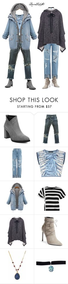 """Familiar October Blues"" by ravenleeart ❤ liked on Polyvore featuring Dolce&Gabbana, SJYP, BCBGMAXAZRIA, Theory, See by Chloé, Yves Saint Laurent, Child Of Wild, Fall and denim"