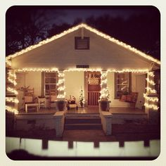 37 Best Christmas Bungalow Style images | Bungalow ...