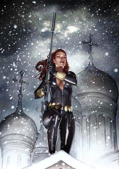 Black Widow (Natasha Romanoff) is a fictional character, a super heroine in the Marvel Comics universe. Ms Marvel, Marvel Comics, Heros Comics, Arte Dc Comics, Black Widow Marvel, Bd Comics, Marvel Girls, Comics Girls, Marvel Heroes