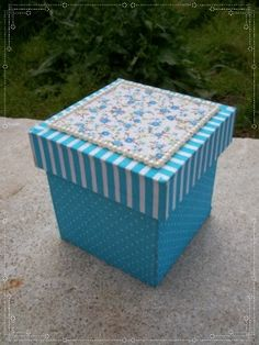 Packaging Dielines, Fun Crafts, Arts And Crafts, Decoupage Box, Pretty Box, Explosion Box, Gift Bags, Hello Kitty, Decorative Boxes
