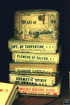 Vintage Pharmacy Drugs