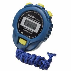 Sports Watch LCD Chronograph Digital Timer Stopwatch Sport Counter Odometer