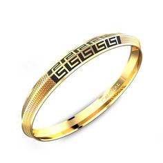 Classic Round Kada With Edge Online Jewellery Shopping India Mens Gold Bracelets, Mens Gold Jewelry, Bangle Bracelets, Gold Bangles Design, Gold Jewellery Design, Men's Jewellery, Gents Bracelet, Fashion Jewellery Online, Gold Wedding Rings