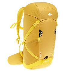 1f939e6ab617 Bergsport Rucksäcke Rucksack - Rucksack Forclaz 30 Air gelb QUECHUA -  Search-Kategorien Travel Backpack