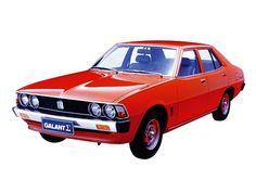 Mitsubishi Galant Σ (1976 – 1978).