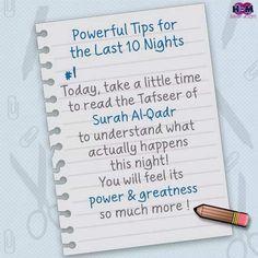 Last ten nights of Ramadan Ramadan Prayer, Ramadan Day, Ramadan Mubarak, Islamic Inspirational Quotes, Islamic Quotes, Shab E Qadar, Islam Hadith, Islam Quran, Alhamdulillah
