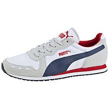 Cabana Racer Fun Trainers: In 1985, when sport meant running and style meant sweatbands and velour V-necks, PUMA cut through with a lightweight runner made to race. Christened the Cabana Racer Fun and aimed at the most serious of runners, this shoe was built close to the ground to strengthen every muscle with breathable cushioning over the track and through the woods. Decked out in mish-mashed nylon and milky suede, the Cabana Racer met the running boom head on. Fast forward a couple of…