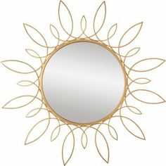 Living Looped Round Metal Wall Mirror. from Homebase.co.uk £40