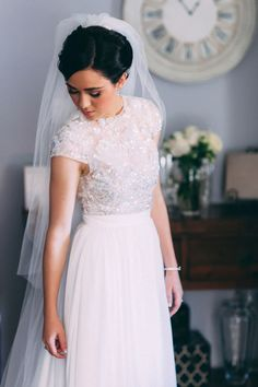 20 Gorgeous Two-piece Wedding Dresses | SouthBound Bride