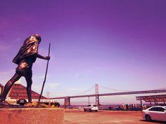 #SF #sanfrancisco #usa #Gandhi #peace #travel #universal_wanderers