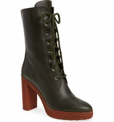 Main Image - Tods Lace-Up Boot (Women)