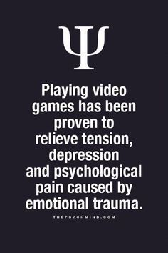 """thepsychmind: """"Fun Psychology facts here! """" Playing video games thepsychmind: """"Fun Psychology facts here! Psychology Fun Facts, Psychology Says, Psychology Quotes, Understanding Psychology, Understanding People, Quotes Thoughts, Fact Quotes, Intp, True Quotes About Life"""