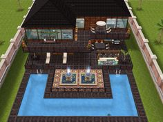 House 57 full view #sims #simsfreeplay #simshousedesign