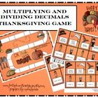 FREE multiplying and dividing decimals game