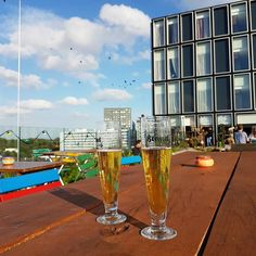 Rooftop sessions Brand Biertjes. #rooftop #casa400 #brandbier #Amsterdam #cityguysnl