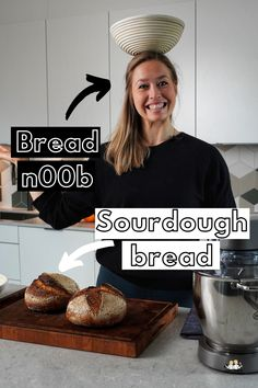 The world's easiest sourdough bread for beginners! This is the first sourdough bread I made, and it turned out awesome, you can do the same! Beginners Bread Recipe, Sourdough Bread, Fermented Foods, Super Simple, Hard Work, Bread Recipes, Healthy Lifestyle, Waiting, Healthy Eating