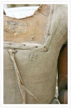 Ancien mannequin de couturière, brocante, déco brocante