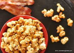 A lesson in Porcine Recycling: Maple Bacon Kettle Corn.