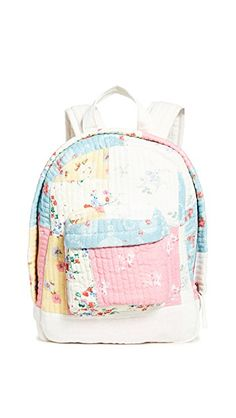 Loveshackfancy Mini Vega Backpack In Multi Mini Backpack, Backpack Bags, Fashion Backpack, Denim Patchwork, Patchwork Patterns, Dancing Barefoot, Backpacking India, Fashion Collage, Sale Items