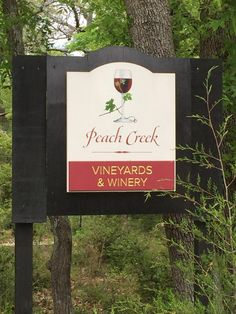 Peach Creek Vineyards  - College Station, TX Attractions / Danthonia Designs