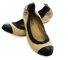 Loucas por Sapatilhas: Sapatilha Bicolor Santa Lolla (Chanel Inspired)