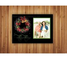 Holiday Photo Cards - Wreath