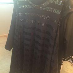 Black sequin dress BCBG black sequin dress Dresses Mini
