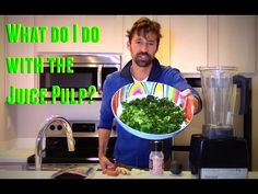 JUICE PULP RECIPE ~ WHAT DO I DO WITH THE PULP AFTER JUICING? - YouTube