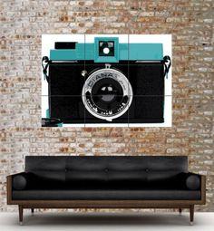 Love the print, want the camera! Vintage Love, Vintage Art, Vintage Cameras, Diana, Mens Fashion, Art Prints, Film, Poster, Men's Style