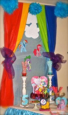 My Little Pony Birthday Party Ideas | Photo 2 of 43 | Catch My Party