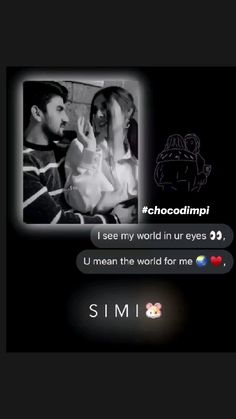 My Cute Love, My World, Instagram