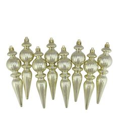 Found it at Wayfair - Ribbed Shatterproof Christmas Finial Ornament