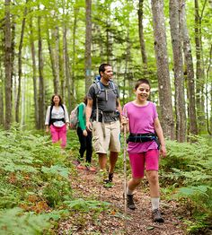 An outdoorsy hiking adventure might be THE summer vacation for your crew!