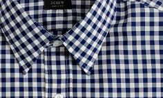 J. Crew Gingham. Right now this shirt is #1 on my to-buy list.