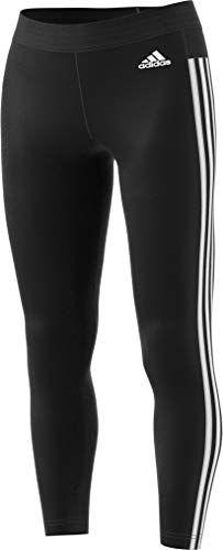 e30dae1f1de adidas Women s Athletics Essentials 3-Stripes Tights  leggings  pants  Striped Tights