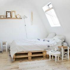 Comment faire un lit en palette - 52 idées à ne pas manquer ...