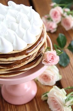 Torta Rogel Party Desserts, Cookie Desserts, Party Cakes, Cookie Recipes, Dessert Recipes, Choco Chocolate, Chocolate Desserts, Minion Cupcakes, Cupcake Cakes