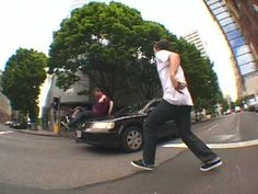 """Levi's """"Powersliding Is Not A Crime"""" viral video hit (2009)."""