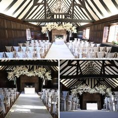 Ceremony Goals✨ The Great Hall can seat 100 for a ceremony or 74 for a wedding breakfast 😍 Wedding Venues Essex, Wedding Breakfast, Events, Table Decorations, Dinner Table Decorations, Center Pieces