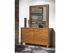 Bainbridge dresser and mirror