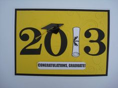 Handmade Graduation Card Congratulations by MyLatestCreations, $4.00