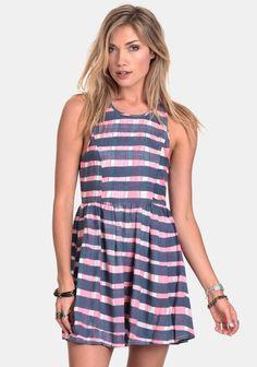 Red Knot Stripe Dress By Somedays Lovin