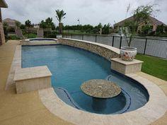 $482,001 - $552,000 Backyard Plan, Small Backyard Pools, Backyard Pool Landscaping, Backyard Pool Designs, Swimming Pools Backyard, Swimming Pool Designs, Kleiner Pool Design, Roman Pool, Florida Pool